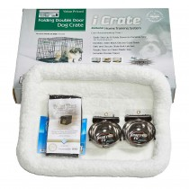 "Midwest iCrate Dog Crate Kit Small 24"" x 18"" x 19"""