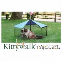 "Kittywalk Carousel 48"" diameter x 24"" – KWSCAR105"