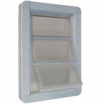 "Ideal Pet Products Premium Draft-Stopper Pet Door Medium White 2.5"" x 10"" x 14.75"""