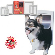 "Ideal Pet Products Designer Series Pet Door Extra Large Gray 2.12"" x 12.43"" x 18.62"""