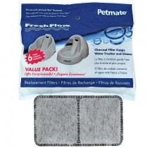 """Petmate Fresh Flow Replacement Filter 6 count 8.3"""" x 0.6"""" x 6.1"""" - PTM24898"""