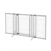 "Richell Premium Plus Freestanding Pet Gate Origami White 34""-63"" x 20.5""-26"" x 32"""